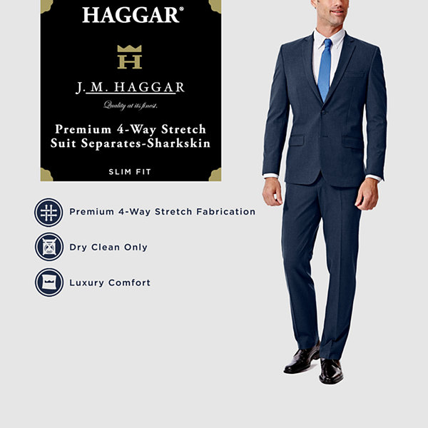 JM Haggar Suit Coat Slim Fit Stretch Suit Jacket