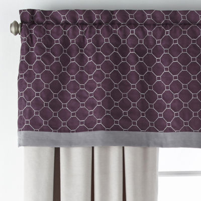 JCPenney Home Bozeman Light-Filtering Rod-Pocket Set of 2 Curtain Panel