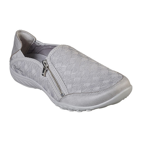 Skechers Breathe-Easy Womens Slip-on Sneakers