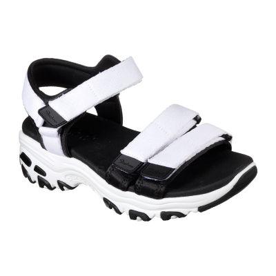 Skechers Womens D'Lites Strap Sandals