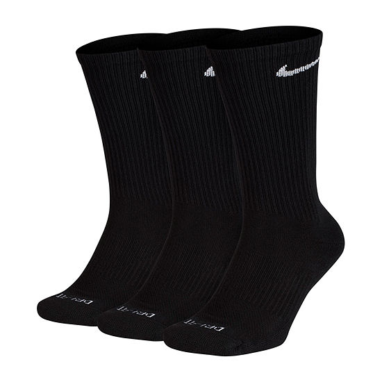 Nike Every Day 3 Pair Crew Socks-Mens