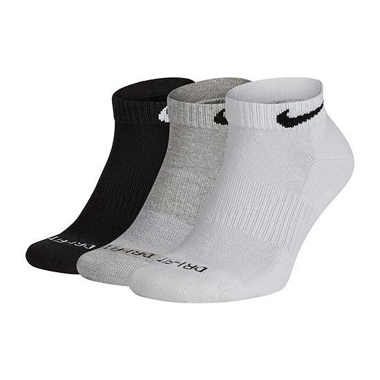 Nike 3 Pair Low Cut Socks-Mens