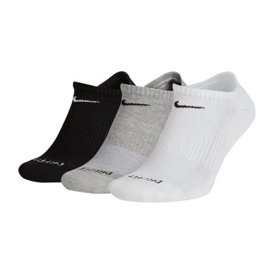 Nike 3 Pair No Show Socks-Mens