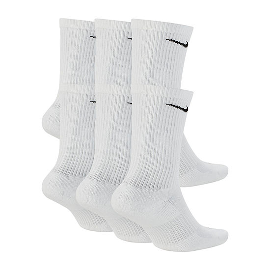 Nike 6 Pair Crew Socks-Mens