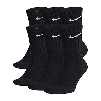 Nike Everyday 6 Pair Crew Socks-Mens
