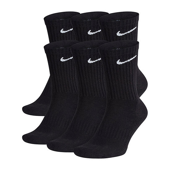 Nike Everyday 6 Pair Crew Socks-Mens