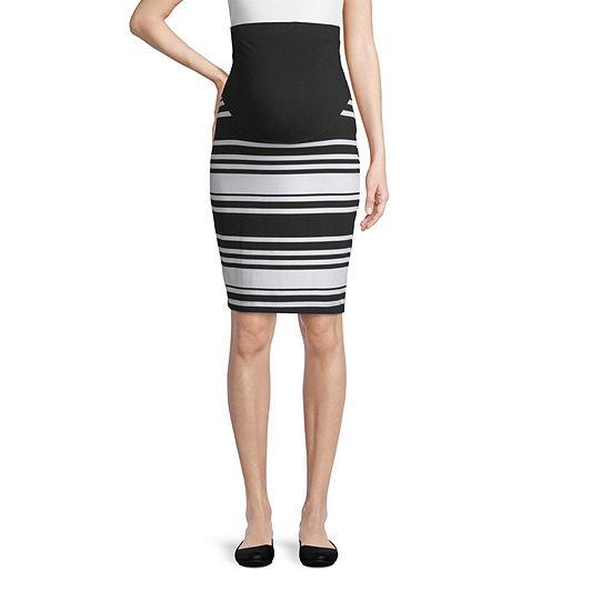 Belle & Sky Maternity Pencil Skirt