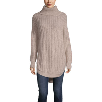 Say What Womens Cowl Neck Long Sleeve Sweatshirt Juniors