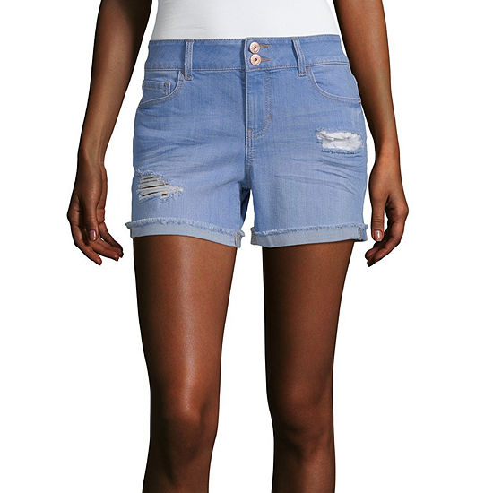Vanilla Star Low Rise Midi Short-Juniors