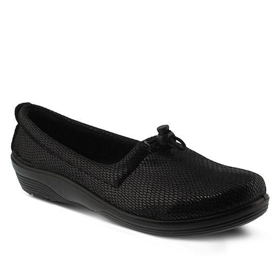Flexus Womens Festival Slip-On Shoe Closed Toe