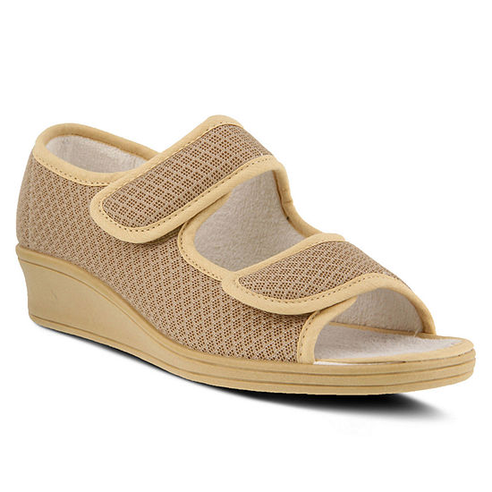 Flexus Womens Loren Flat Sandals