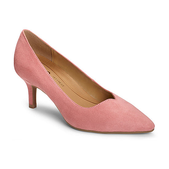 5c0704abf9e A2 by Aerosoles Womens Anagram Slip-on Pointed Toe Kitten Heel Pumps -  JCPenney