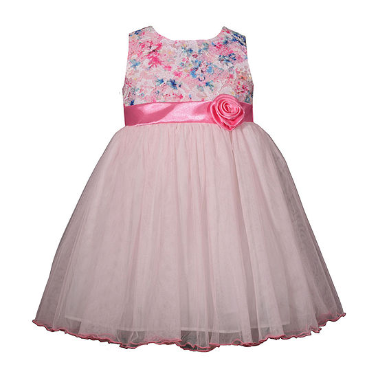 Bonnie Jean Girls Sleeveless Party Dress - Toddler