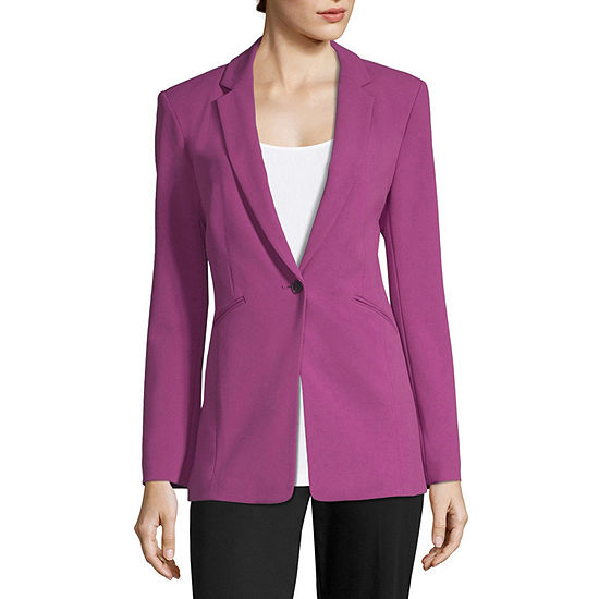 Worthington Womens Blazer Tall