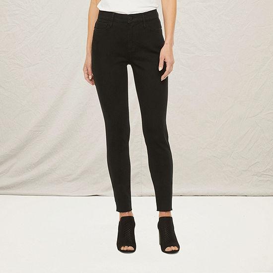 a.n.a-Tall Womens High Rise Skinny Jean