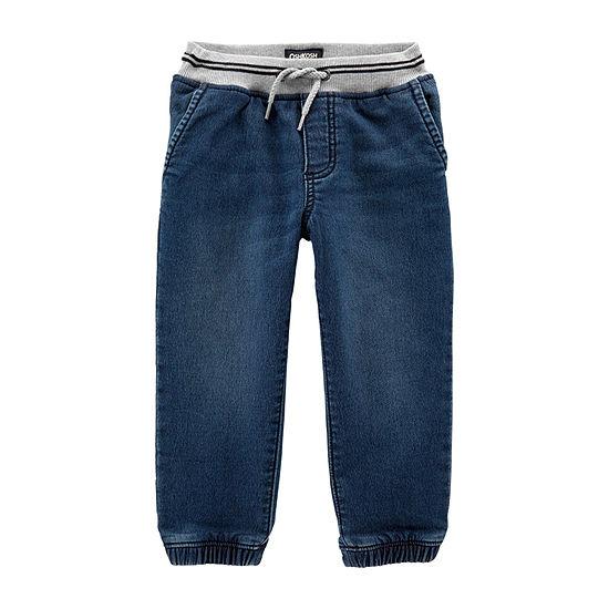 Oshkosh Baby Boys Mid Rise Slim Regular Fit Jean
