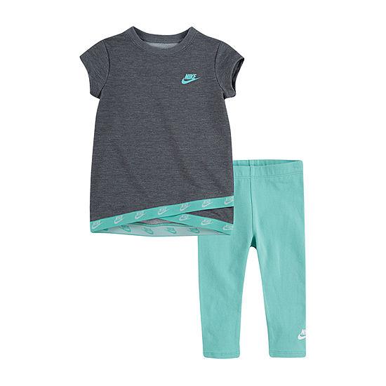 Nike-Little Kid Girls 2-pc. Legging Set