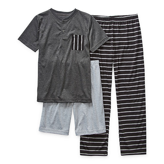 Arizona Little & Big Boys 3-pc. Pajama Set