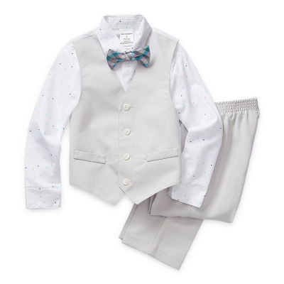 Van Heusen Little Kid / Big Kid Boys 4-pc. Suit Set