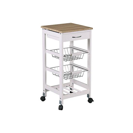 Home Basics Shelf Cart
