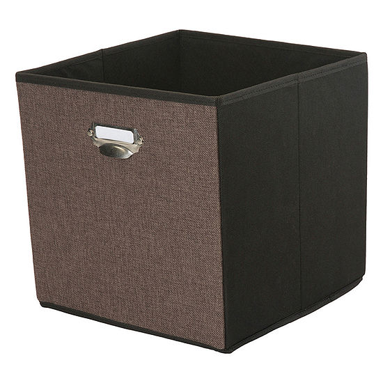 Kennedy International Storage Cube W/ Name Plate Storage Box