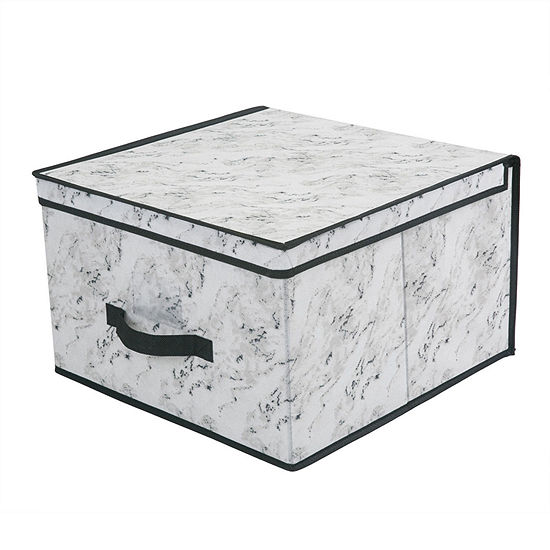 Kennedy International Storage Box-Jumbo 16x16x10-Marble Storage Box
