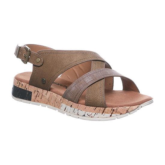 Bearpaw Womens Shelly Flat Sandals