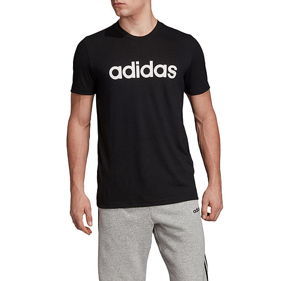 adidas Mens Crew Neck Short Sleeve T-Shirt