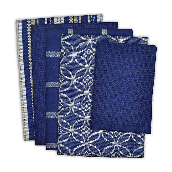 Design Imports 5-pc. Towels + Dish Cloths