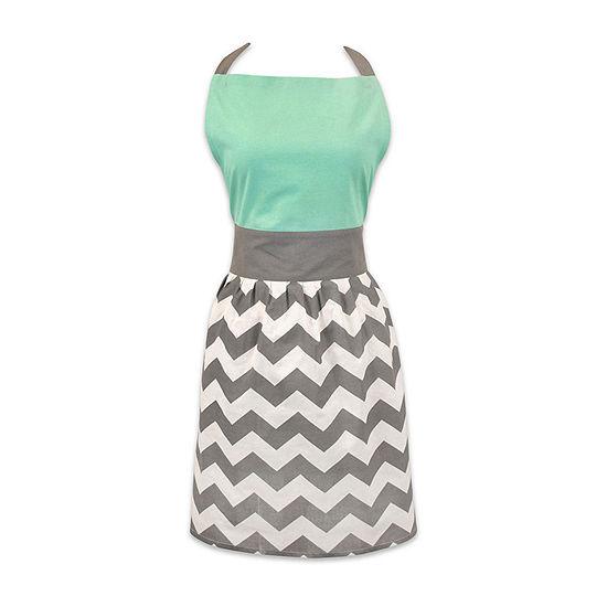 Design Imports Chevron Skirt Apron