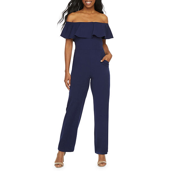 Premier Amour Short Sleeve Jumpsuit