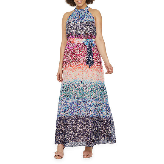 Dr Collection Sleeveless Confetti Maxi Dress