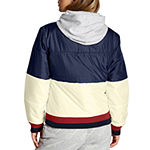 Champion Womens Hooded Neck Long Sleeve Quarter-Zip Pullover