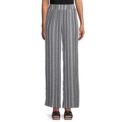 Alyx Womens Mid Rise Wide Leg Palazzo Pant