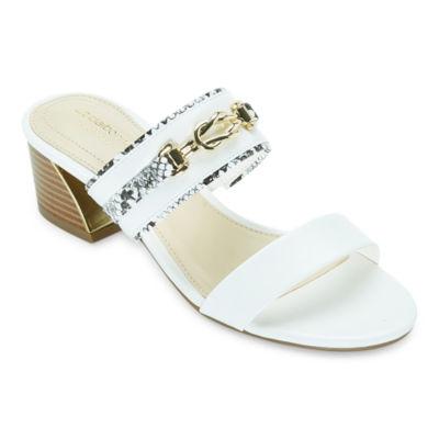 Liz Claiborne Womens Cade Heeled Sandals