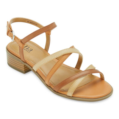 a.n.a Womens Alto Ankle Strap Flat Sandals