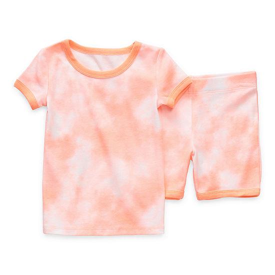 Okie Dokie Toddler Girls 2-pc. Shorts Pajama Set
