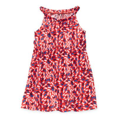 Okie Dokie Toddler Girls Sleeveless Sundress