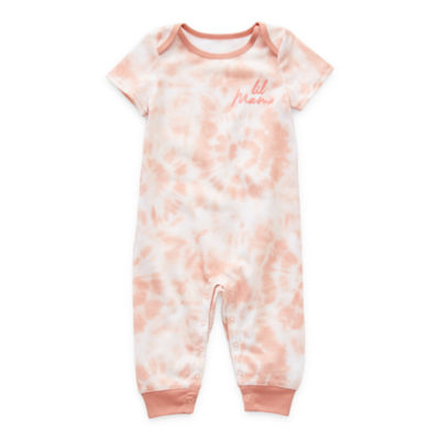 Sleep Chic Mommy & Me Baby Girls Short Sleeve One Piece Pajama