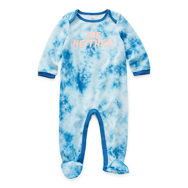 Sleep Chic Mommy & Me Baby Girls Long Sleeve One Piece Pajama