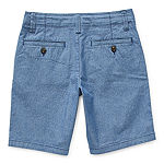 Arizona Little & Big Boys Stretch Adjustable Waist Chino Short