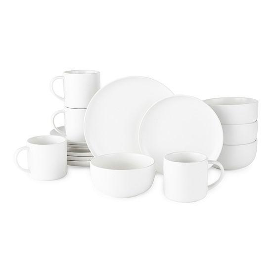 Loom + Forge 16-pc. Stoneware Dinnerware Set