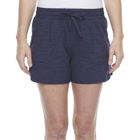 St. John's Bay Womens Mid Rise Pull-On Short