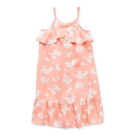 Peyton & Parker Mommy & Me Toddler Girls Sleeveless Floral Maxi Dress