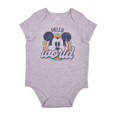 Okie Dokie Baby Boys Mickey Mouse Bodysuit