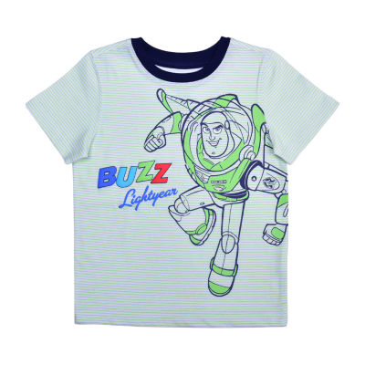 Okie Dokie Toddler Boys Crew Neck Toy Story Short Sleeve Graphic T-Shirt