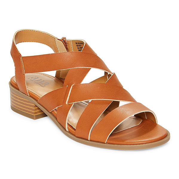 a.n.a Womens Asher Heeled Sandals