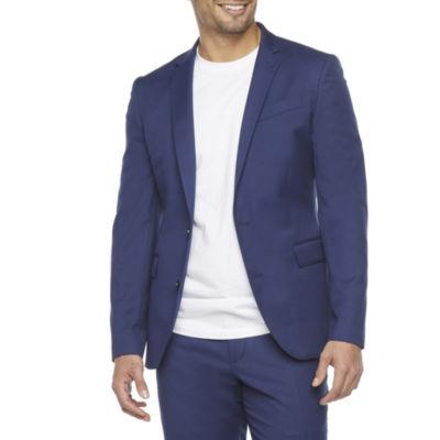 JF J.Ferrar Mens Super Slim Fit Suit Jacket