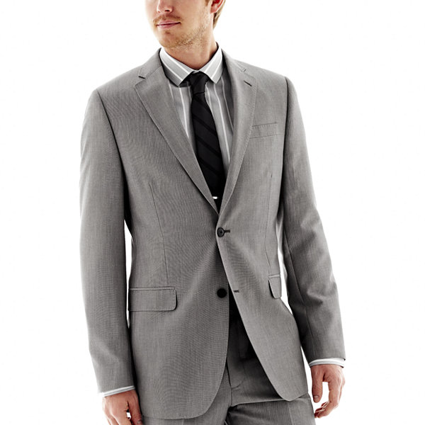 JF J. Ferrar® End on End Suit Jacket - Classic Fit