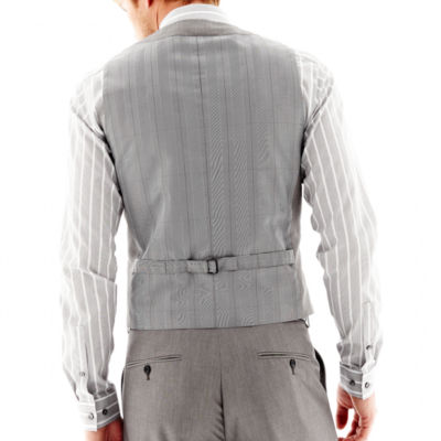 JF J. Ferrar® End on End Suit Vest - Slim Fit